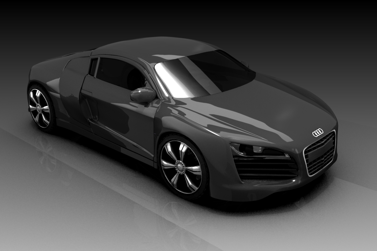 Free Download Blender D Model Of Audi R Blog - Audi car 3d