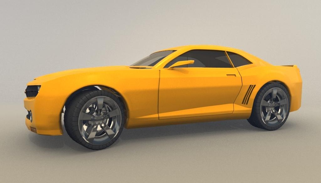 Free download blender 3d model of chevrolet camaro blog