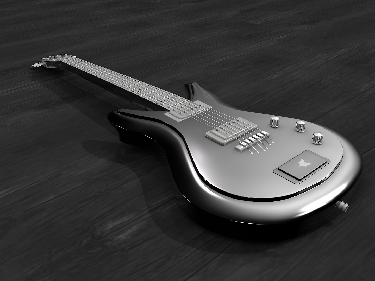 Free Download Blender 3d Model Of Guitar Blog