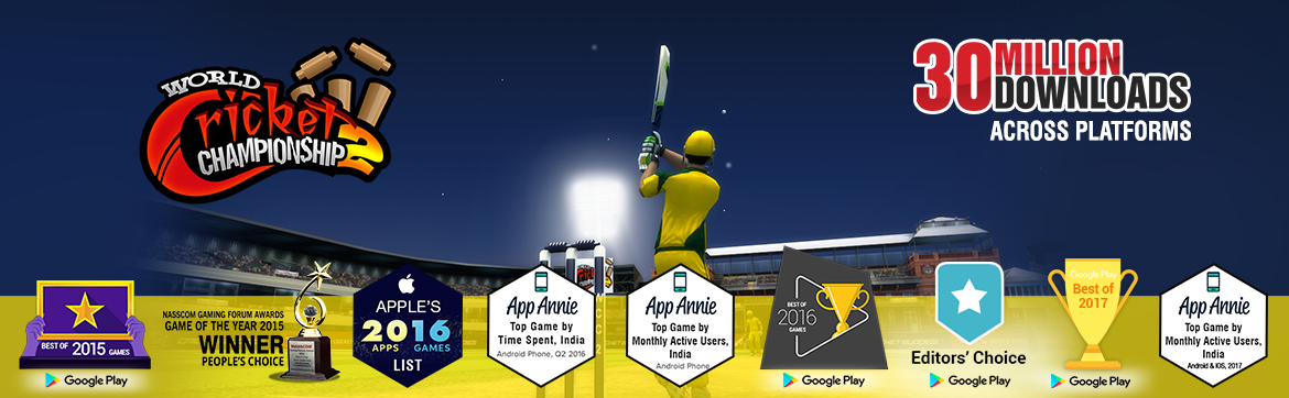 The most intense Mobile Cricket experience