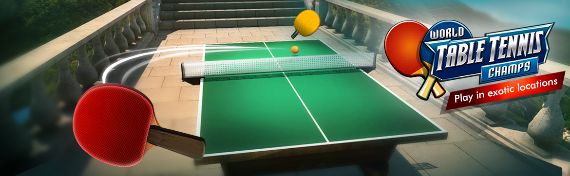 Table Tennis like you've never seen it before!