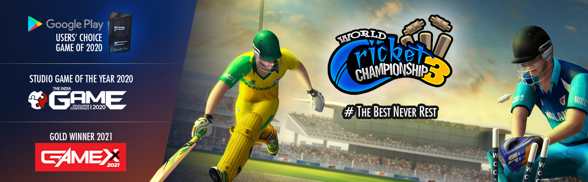 World Cricket Championship 3 for a brand new cricketing experience on mobile
